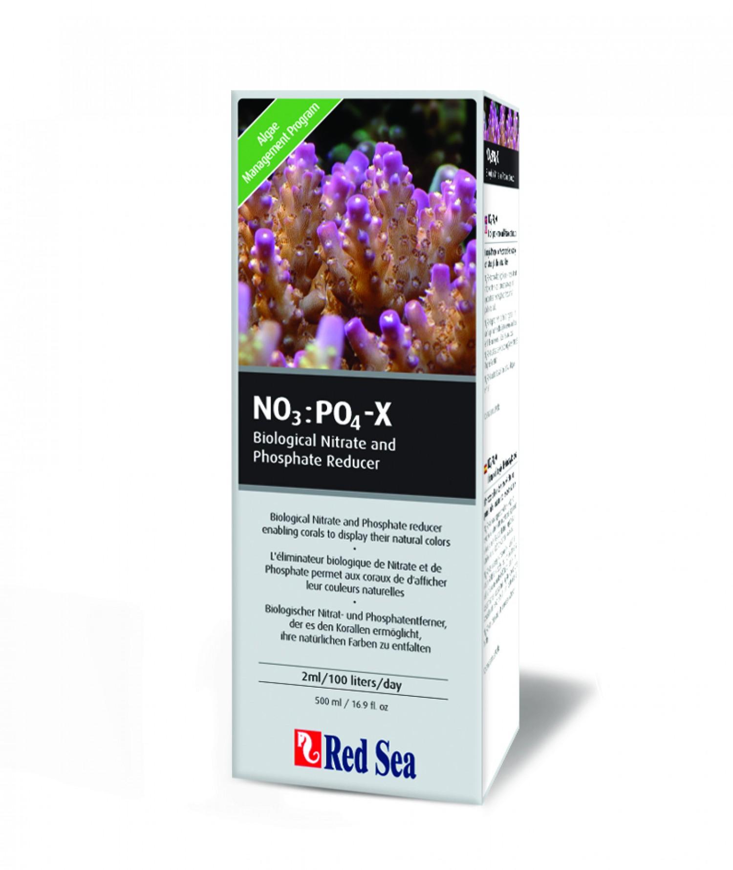 """Для удаления нитратов и фосфатов """"NO3:PO4-X"""" 1 л"""