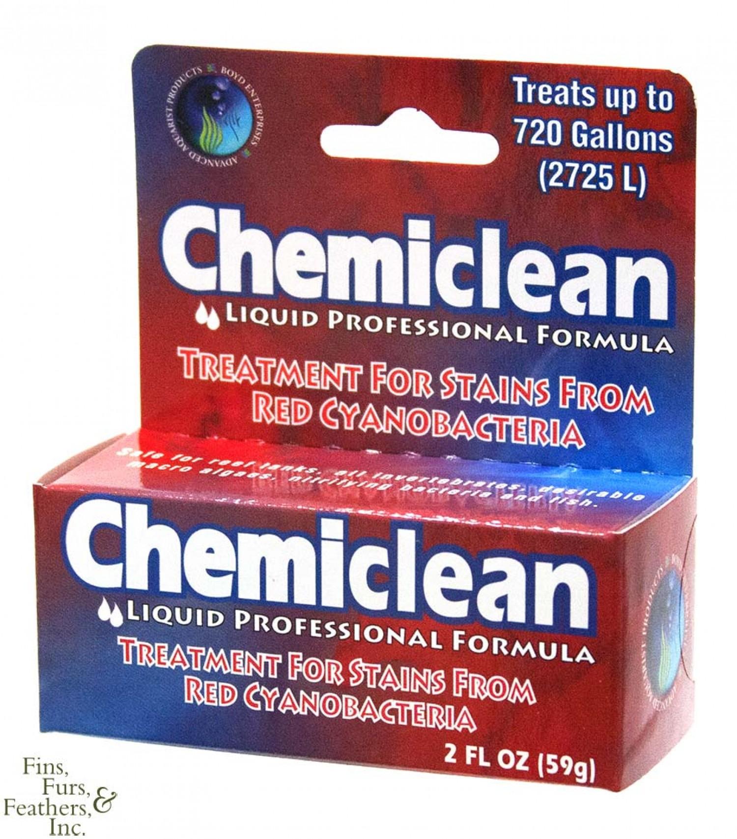 Препарат Chemi Clean для борьбы водорослями