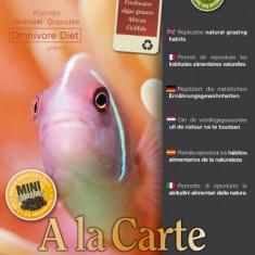 Fish Food A la Carte Omnivore Diet. Корм для всеядных рыб.