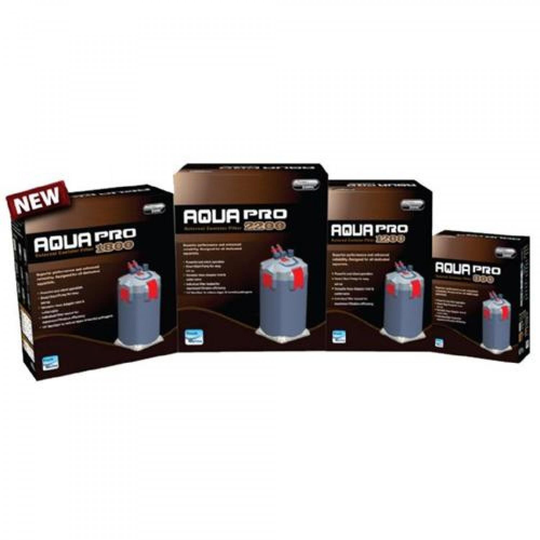 Внешний биологический канистровый фильтр AQUA PRO 2200, 60 W, 2200 л/ч, автозапуск