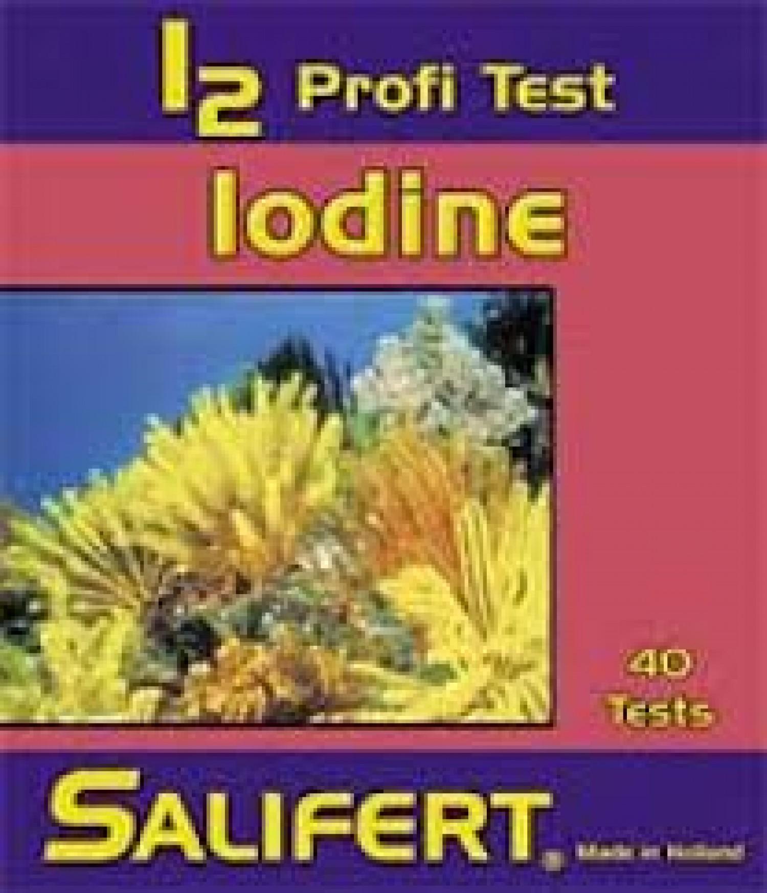 Тест Salifert Iodine Profi