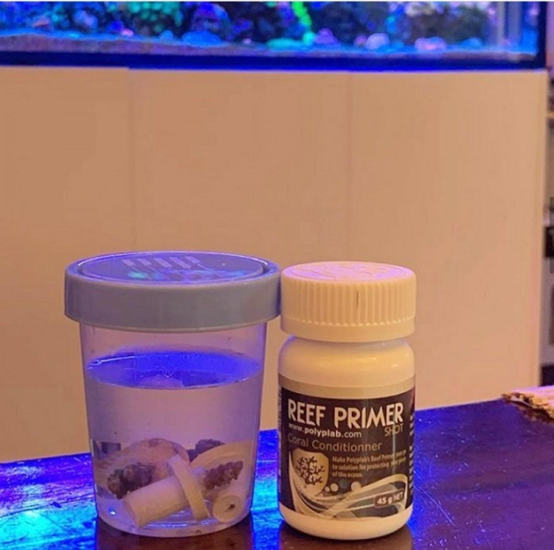 Препарат для лечебных ванн кораллов Polyplab Coral Primer Shot 45gr
