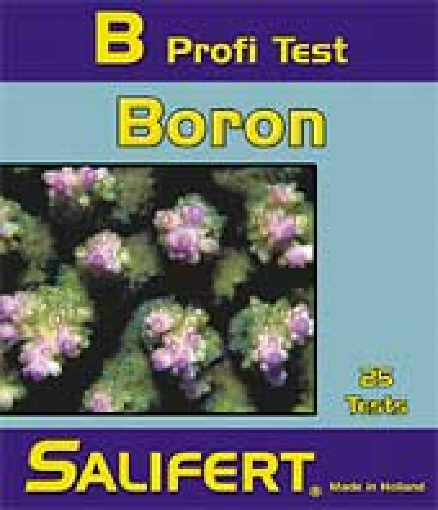 Тест Salifert Boron Profi