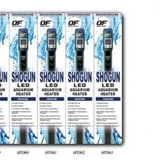 Обогреватель SHOGUN LED с терморегулятором 100W (акв.90-120л)